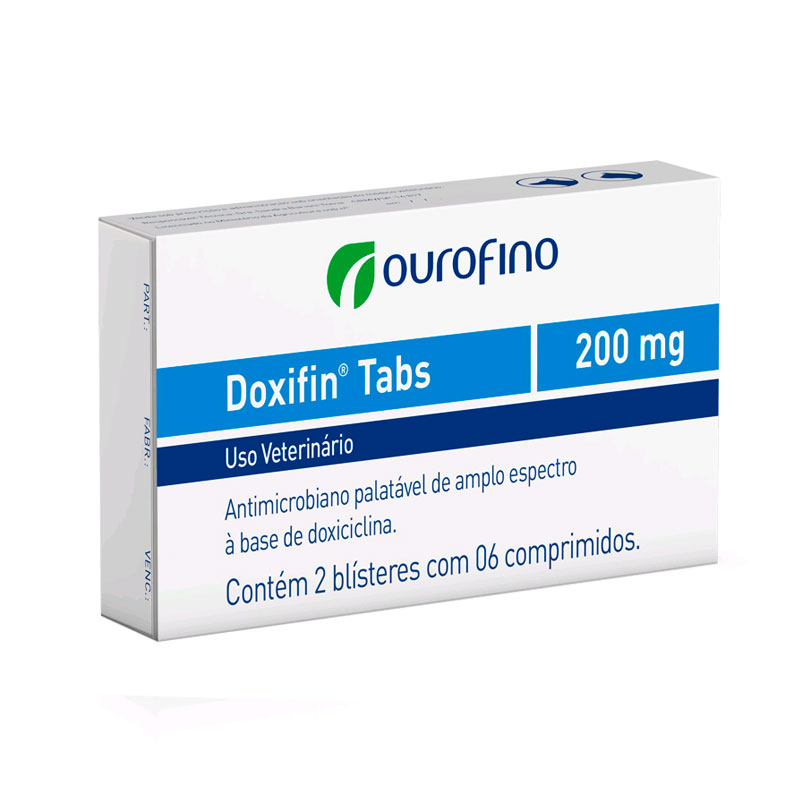 DOXIFIN 200MG TABS C/6COMP.